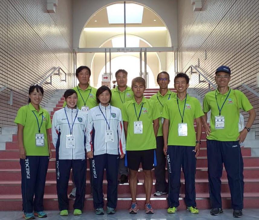 国体栃木県選手団